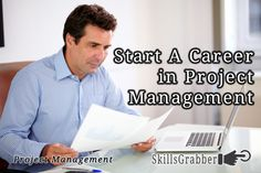 Start A Career in Project Management - find out how at SkillsGrabber.com