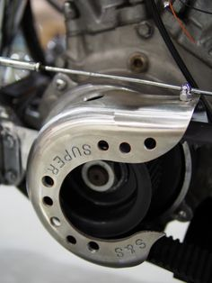 S&S teardrop air cover turned into primary drive front sprocket cover