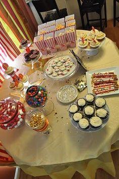 "Photo 1 of 19: Oscar Themed Movie Night / Birthday ""Alexandra's Movie Night"" | Catch My Party"
