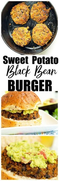 This Sweet Potato Black Bean Burger recipe is vegan, gluten-free, and bursting with flavor! One of the BEST veggie burger recipes I've ever made!!