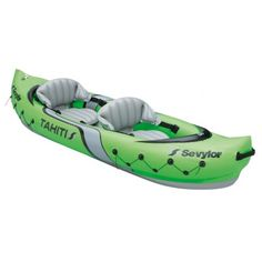 Sevylor 2 person Riviera Canoe Inflatable 2 valves Drain plug Sturdy