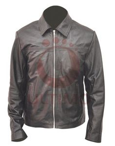 Daniel Craig Layer Cake Leather Jacket  Sported by Daniel Craig in the movie, Layer Cake, this leather jacket has become a popular choice among many youngsters.  With decorative stitching, this jacket is made with premium quality cow leather. Red velvet lining makes the jacket unique among