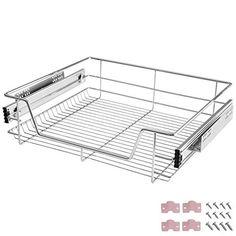bremermann® Teleskopschublade, Küchenschublade mit Einlegeboden, 60 cm