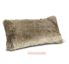 Add extra comfort and style to a sofa or bedding set with this fuzzy throw pillow for that cozy ski lodge look. Lodge Look, Decoration Originale, Faux Fur, Throw Pillows, Carpets, Home Decor, Chic, Style, Quirky Gifts