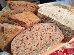 MAGIC BREAD RECIPE! No tricks here, this REAL sour dough bread really IS MAGICAL...plus, it can be eaten by people with wheat sensitivities, allergies and even people with Celiac Disease.
