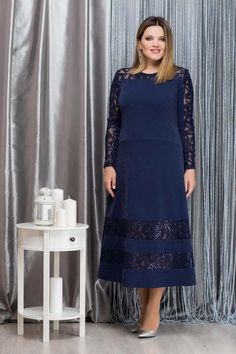 Коллекция женской одежды больших размеров белорусской компании Nadin N осень-зима 2018-2019