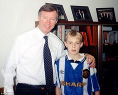 Sir Alex Ferguson got to know the families of his players - as he did with a young Darren Fletcher