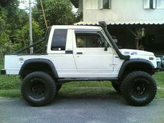 White Jimny Long