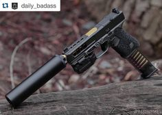 Summon this (or something like it) on amazon.com: http://amzn.to/1MnNAqJ #Repost @daily_badass with @repostapp. #GlockPorn | Follow @BadassMedia - @Griffin_Armament Rev 9 Suppressor @DangerCloseArmament Framework @Precision_Syndicate_Llc Slide Machining @Rebellion_Custom_Firearms Frame Cerakote @jagerwerkseng Carbon RMR Plate @S3FSolutions Barrel @ApexTactical Trigger @ETSGroup Magazine @FreedomMunitions Hush 9MM Subsonic Ammo - Photo by me. - Contact For Promo / Photography: Email: Rylan...