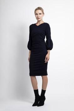 Caroline Kilkenny, Fall Winter, Autumn, High Neck Dress, Dresses For Work, Fashion, Turtleneck Dress, Moda, Fall Season