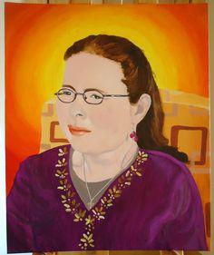 Aileen (acrylic on canvas)