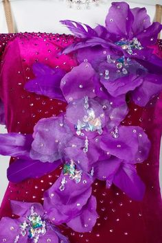 dress Ballroom Dance Dresses, Ballroom Dancing, Latin Dance, Dance Costumes, Embellishments, Amethyst, Texture, Crystals, Colors