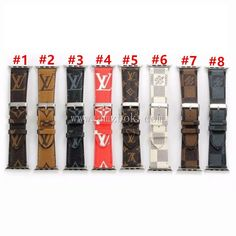 Gucci Apple Watch Band, Apple Watch Bands, Iphone Watch Bands, Basic White Girl, Basketball Gifts, Metal Buckles, Leather Material, Monogram Canvas, Card Wallet
