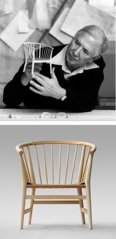 PP112 by Hans Wegner for PP Møbler Light and elegant, a hybrid #design blends Chinese and British traditional design