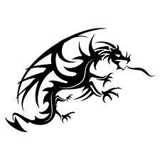 Dragon spitting fire vector - Free vector image in AI and EPS format. Silhouette Tattoos, Silhouette Clip Art, Fire Vector, Vector Art, Vector Clipart, Cool Mythical Creatures, Thing 1, Cute Dragons, Dragon Boat