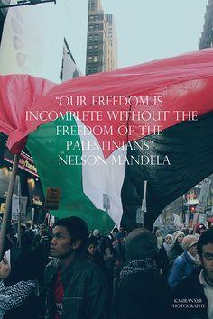 Nelson Mandela for Palestine