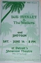Bob Marley & The Wailers: 1975-06-14 Showcase Theater, Detroit, Michigan,USA http://voiceofthesufferers.free.fr/memorb.html