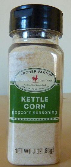 What's Good at Archer Farms?: Archer Farms Kettle Corn Popcorn Seasoning