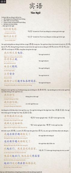 Ngữ Pháp - 宾语 [bīn yǔ] - Tân ngữ