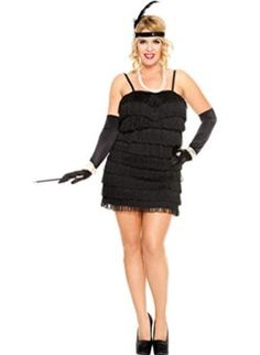MUSIC LEGS Womens Plus-Size 1920s Flapper Plus Size  1902s flapper 4 piece plus dimension stretch flapper fringe get dressed with heaDPiece cigarette holder and gloves Sequin headpiece Feather element  The post MUSIC LEGS Womens Plus-Size 1920s Flapper Plus Size appeared first on Halloween Costumes Best.  #flapper #flappercostume #sexy #20s #halloween #costume