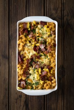 #Bacon, Cheese and Corn Pasta Bake... go on, indulge your family tonight! :-) #MyMzansiPasta #Knorr #Pasta #SouthAfrican