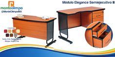 Módulo Elegance semiejecutivo http://www.monteolimpo.com.mx