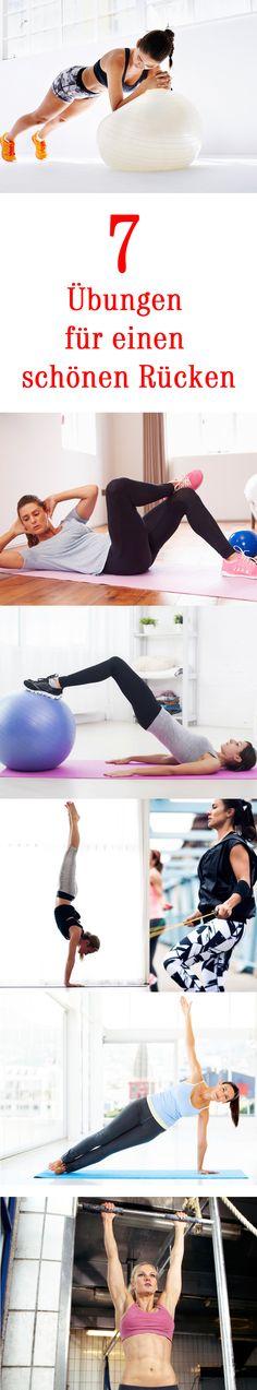 Rückenfett verlieren — Ein schöner Rücken kann bekanntlich entzücken - und mit unseren Fitness-Übungen gelingt der Weg dahin ganz leicht