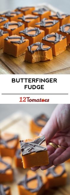 Butter Finger Fudge - tastes JUST like the candy!