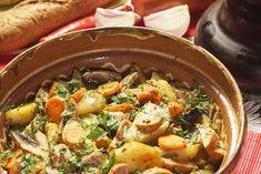 Mancare de post - Rețeta de mâncare de post cu cartofi și ciuperci la cuptor este prima mea contribuție pe site-ul retetecalamama.ro și am vrut să o dedic..