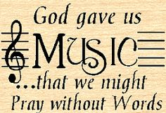 Music touches my soul...Thank You God for this amazing and lovely gift!