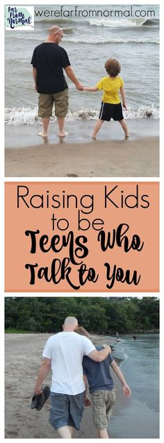 The teen years don't have to be hard! Start when your kids are young to set the foundation to have awesome teens who talk to you! #ChristianParenting