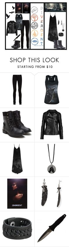 """Female heroine of the books N.1"" by sayashadowhunter ❤ liked on Polyvore featuring DRKSHDW, MuuBaa, Alice + Olivia, Rebecca Minkoff, Frye, H.R. and Lane Bryant"