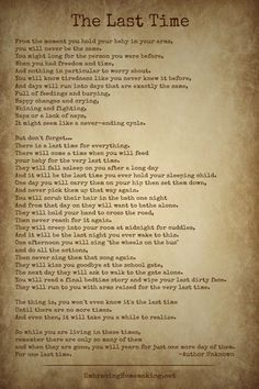 Tonight, my husband shared with me a poem that he found on Facebook. A poem that made me cry. A poem that gave me a renewed joy for the little things in life. I hope you'll enjoy it too! Danniel J. Lennax is the author of this heartfelt poem. Sign up to get weekly inspiration delivered right