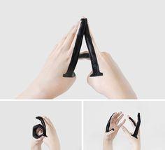 Handmade Type di Tien-Min Liao.