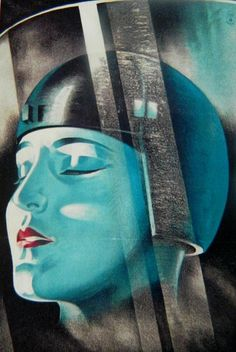 SPACED OUT Art Deco Painting