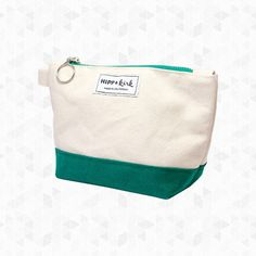 Mini Pouch. HIPP & kirk's Mini is a small pouch with a zipper closure and lined with a fun, matching striped fabric. Perfect for cables, chargers, makeup and travel accessories. Use on its own, or use with their Oversized Tote. Designed and manufactured in San Francisco. By Hipp & Kirk, $40.