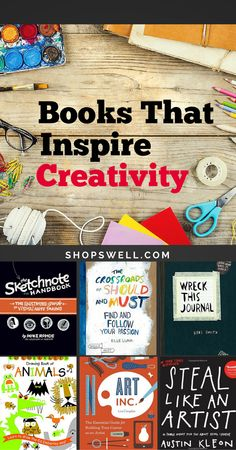 So you love your craft–writing, sketching, doodling, art. Yet you never seem to have enough time. Here are some books to get you inspired.