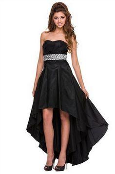 PRIMA Glitz GZ1536 Jeweled High Low Prom - Homecoming Dress