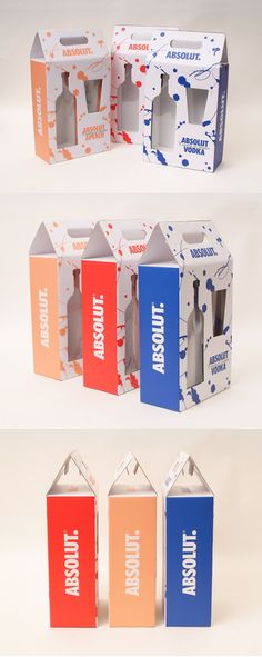 silhouette of the product Absolut Vodka, Wine Design, Box Design, Clothing Store Design, Candy Packaging, Fashion Packaging, Cosmetic Design, Press Kit, Name Cards