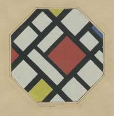 Theo van Doesburg Study for a Composition 1923 Gouache and ink on tissue paper and pen and ink on paper 11 x 9 x cm) Theo Van Doesburg, Abstract Geometric Art, 26 November, Concrete Art, Constructivism, Piet Mondrian, Construction, Art Archive, Dutch Artists