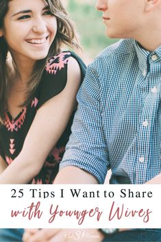 What tips would I share with younger wives? What has gone into a happy, loving marriage? Here are 25 tips every young (and even older) wife should know. Broken Marriage, Marriage Relationship, Marriage Advice, Love And Marriage, Young Marriage Quotes, Relationships, Christian Wife, Christian Families, Just Married