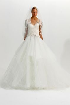 Marchesa Fall 2012 Bridal | Weddings Unveiled | Inspiring Style for Southern Weddings