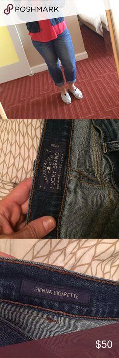 Lucky brand sienna cigarette boyfriend jean Like new boyfriend Jean from lucky. Lucky Brand Jeans Boyfriend