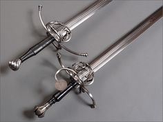 Two Compound-hilted Longswords -- myArmoury.com