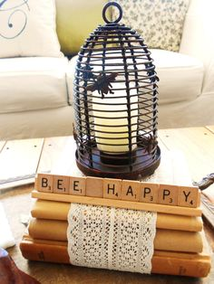 Bee Topiary and Vignette