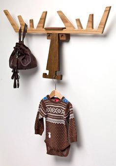 design traveller: Cato, the elk hanger by Pur Norsk