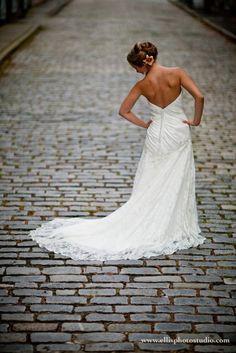 interesting and beautiful ... Charleston bridal portrait!
