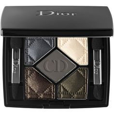 Dior 5-Colour Eyeshadow ($62) ❤ liked on Polyvore featuring beauty products, makeup, eye makeup, eyeshadow, beauty, christian dior, palette eyeshadow, christian dior eyeshadow and christian dior eye shadow