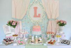 Hostess with the Mostess® - Shabby Chic Precious Moments 1st Birthday