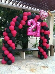 26 Great 21st Birthday Balloons Images